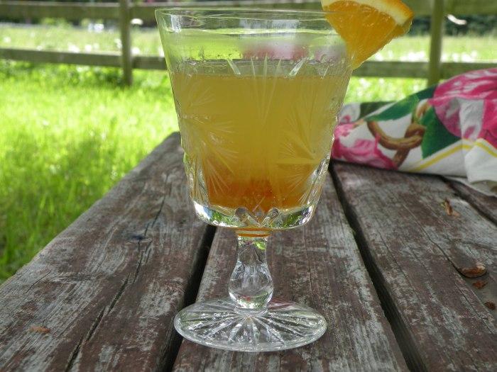 Orange Vanilla Dream Cocktail