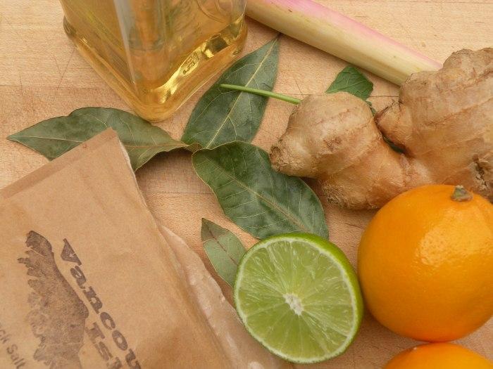 Lime, Meyer Lemon, Lemon Grass and Tequila Marmalade