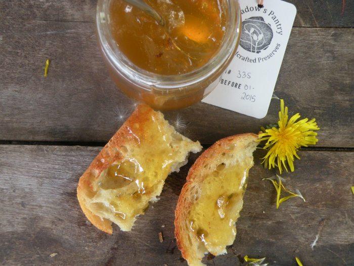 Le Meadow's Pantry Dandelion Confit