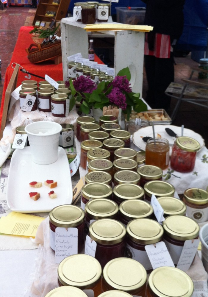 Various Preserves on Le Meadow's Table